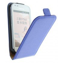 M-Supply Flip case dual color Samsung Galaxy Trend blauw