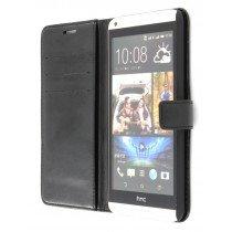 M-Supply Flip case met stand HTC Desire 816 zwart