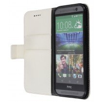 M-Supply Flip case met stand HTC One M8 wit