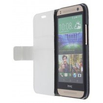 M-Supply Flip case met stand HTC One Mini 2 wit