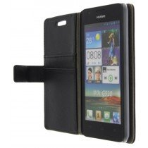 M-Supply Flip case met stand Huawei Ascend G510 zwart
