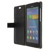 M-Supply Flip case met stand Huawei Ascend G7 zwart