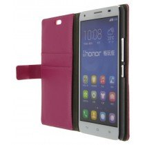 M-Supply Flip case met stand Huawei Ascend G750 roze