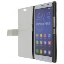 M-Supply Flip case met stand Huawei Ascend G750 wit