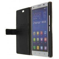 M-Supply Flip case met stand Huawei Ascend G750 zwart