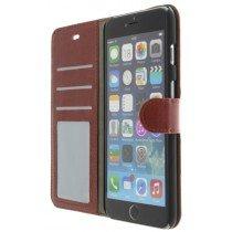 M-Supply Flip case met stand iPhone 6 Plus bruin