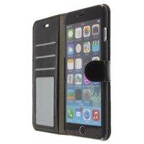 M-Supply Flip case met stand iPhone 6 Plus zwart