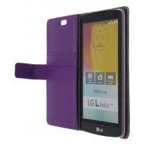 M-Supply Flip case met stand LG L Bello paars