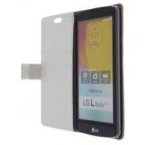 M-Supply Flip case met stand LG L Bello wit