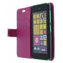 M-Supply Flip case met stand Nokia Lumia 530 roze