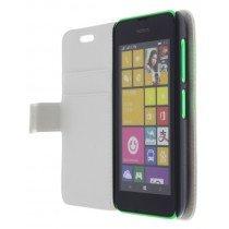 M-Supply Flip case met stand Nokia Lumia 530 wit