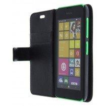 M-Supply Flip case met stand Nokia Lumia 530 zwart