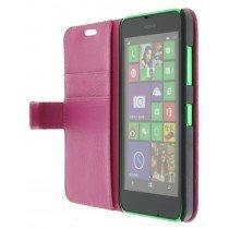 M-Supply Flip case met stand Nokia Lumia 630 roze