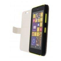 M-Supply Flip case met stand Nokia Lumia 630 wit