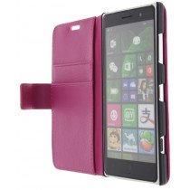 M-Supply Flip case met stand Nokia Lumia 830 roze