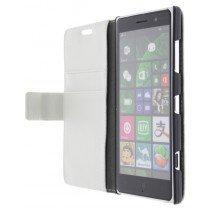 M-Supply Flip case met stand Nokia Lumia 830 wit