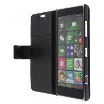 M-Supply Flip case met stand Nokia Lumia 830 zwart