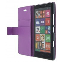 M-Supply Flip case met stand Nokia Lumia 930 paars