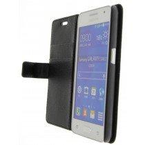 M-Supply Flip case met stand Samsung Galaxy Core 2 zwart