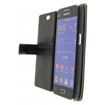M-Supply Flip case met stand Samsung Galaxy Core Prime zwart
