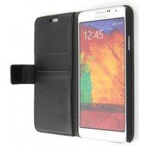 M-Supply Flip case met stand Samsung Galaxy Note 3 Neo zwart