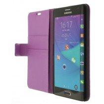 M-Supply Flip case met stand Samsung Galaxy Note Edge paars