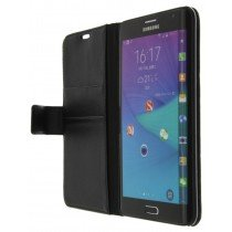 M-Supply Flip case met stand Samsung Galaxy Note Edge zwart
