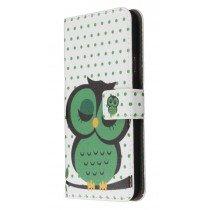 M-Supply Flip case met stand Samsung Galaxy S5 Owl