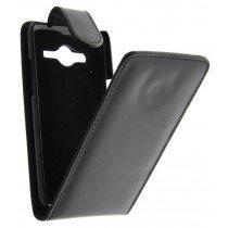 M-Supply Flip case Samsung Galaxy Core LTE G386 zwart