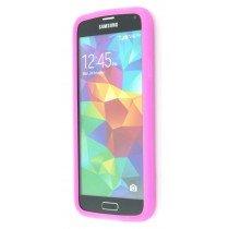 M-Supply Siliconen hoesje Samsung Galaxy S5 roze