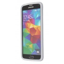 M-Supply Siliconen hoesje Samsung Galaxy S5 wit