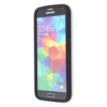 M-Supply Siliconen hoesje Samsung Galaxy S5 zwart