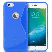 M-Supply TPU case Apple iPhone 6 blauw