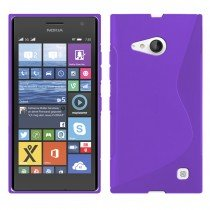 M-Supply TPU case Nokia Lumia 730 paars