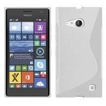 M-Supply TPU case Nokia Lumia 730 transparant