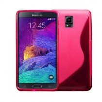 M-Supply TPU case Samsung Galaxy Note 4 roze