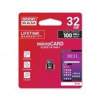 MicroSDHC kaart 32GB C10/UHS-1