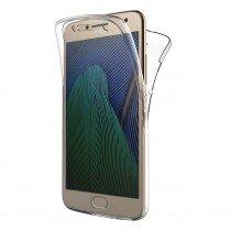 Motorola Moto G5 Plus TPU hoesje voor + achter