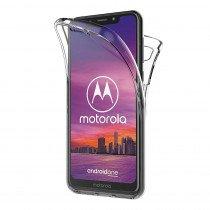 Motorola One TPU hoesje voor + achter