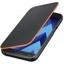 Neon Flip Cover Samsung Galaxy A3 2017 EF-FA320PBE zwart