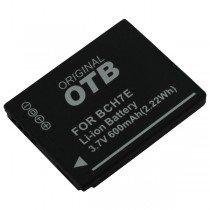 Accu Panasonic DMW-BCH7E Li-ion 600 mAh