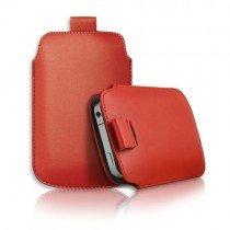 Pouch Apple iPhone 5 / 5S rood