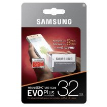 Samsung EVO MicroSDHC EVO kaart 32GB C10/UHS-1
