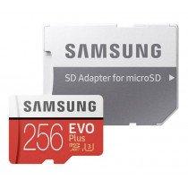 Samsung EVO Plus MicroSDXC kaart 256GB C10/UHS-1