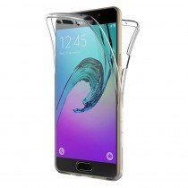 Samsung Galaxy A3 2016 TPU hoesje voor + achter