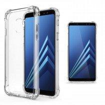 Samsung Galaxy A8 2018 hoesje met stevige hoeken