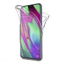 Samsung Galaxy A90 TPU hoesje voor + achter