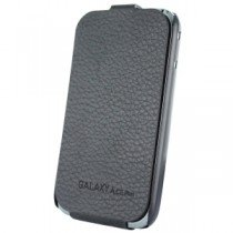 Samsung Galaxy Ace Plus Anymode flip cover zwart SAMGPLLFC