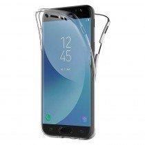 Samsung Galaxy J5 2017 TPU hoesje voor + achter