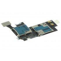 Samsung Galaxy Note 2 N7100 Sim - Micro SD kaart lezer